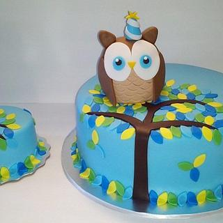 Look Whoo's Turning One Owl