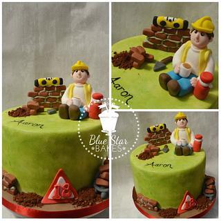 Builder Themed Cake
