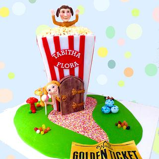Cinema party cake