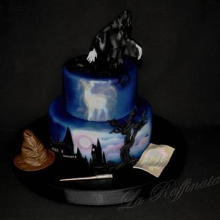 Harry Potter Dark cake - Cake by La Raffinata