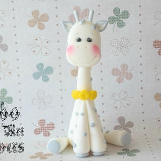 Giraffe Fondant Topper