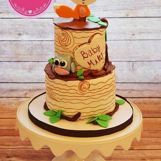 Baby shower cake  - Cake by Sweetbitesshoppe