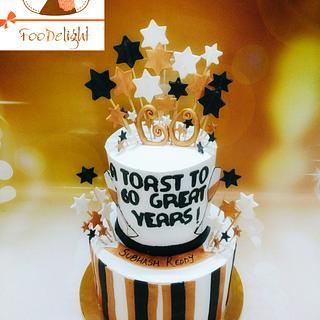 #60thbirthdaycake #retirementcake  - Cake by Shruti agarwal