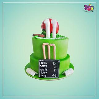 Cricket! - Cake by Ankita Singhal