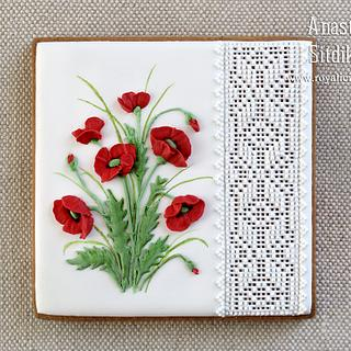 """Cookie """"Poppies"""""""