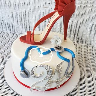 Shoe cake - Cake by The Charming Gourmet