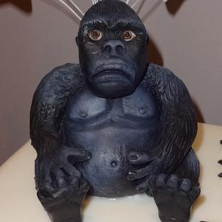 Gorilla cake  - Cake by Cushty cakes