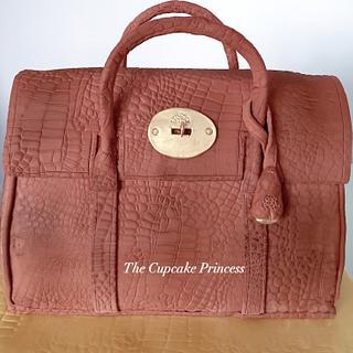 Mulberry handbag - Cake by Jackie - The Cupcake Princess