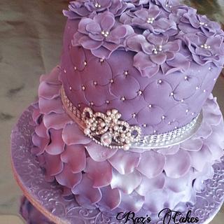 Purple Princess  - Cake by RazsCakes