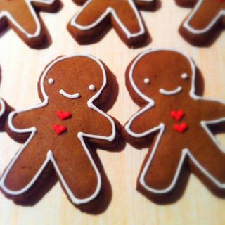Mini Gingerbread Men - Cake by Roseanne