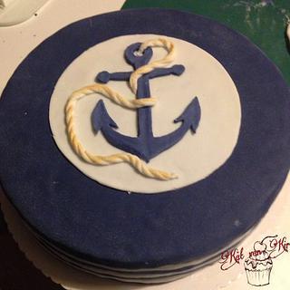 Hello sailor - Cake by KaetvanKirsch