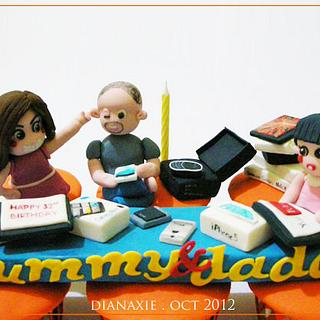 Too Many Gadgets - Cake by Diana