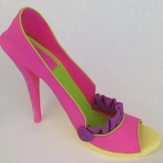 Spring Gumpaste Shoes