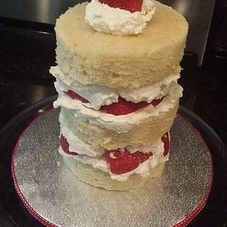 Strawberry pound cake - Cake by Delani's Delights