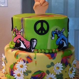 Sixties cake