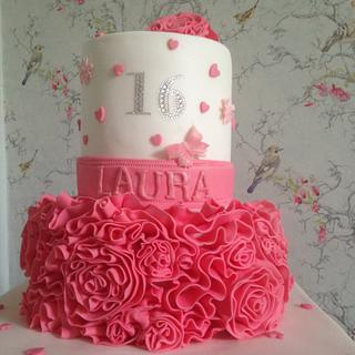 Sweet Sixteen! - Cake by Janet Harbon