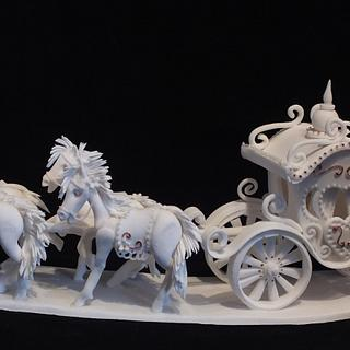 Our take on Fairytale Carriage and Horses (from Tutorial Yener's Way)