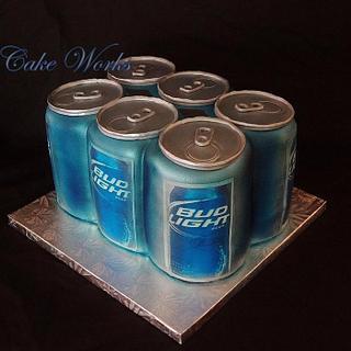 Six Pack of Beer - Cake by Alisa Seidling