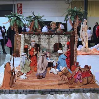 Nativity  - Cake by Veronica22