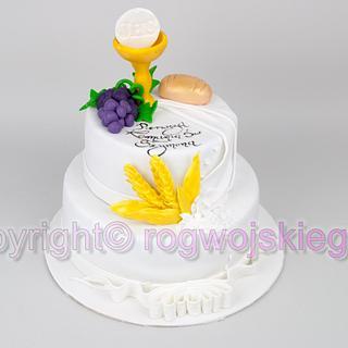First Comunion Cake / Tort Na Pierwszą Komunię Świętą