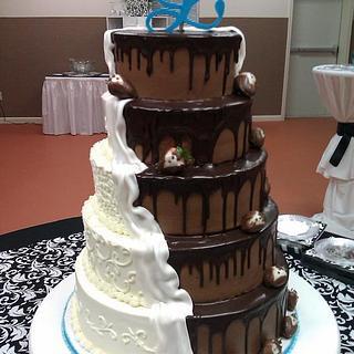 Bride-Groom Cake - Cake by Jody Wilson