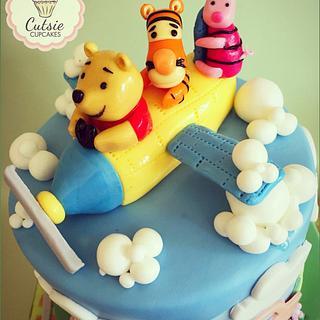 Winnie the Pooh Cake 💙