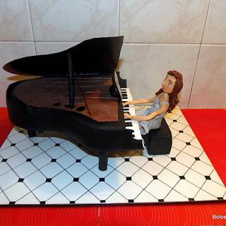 Piano Cake / Bolo Piano