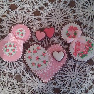 Mother's day gingerbread cookies