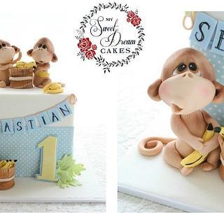 Cheeky Monkey 1st Birthday