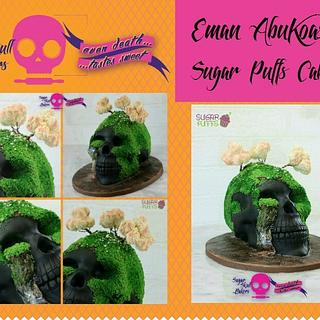 Sugar Skull Bakers Collaboration  - Cake by Eman Abukoash