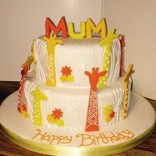 Giraffe cakes  - Cake by Hayleycakes
