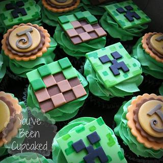 Minecraft Cupcakes - Cake by You've Been Cupcaked (Sara)