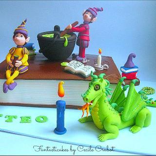 Magic Potion Cake