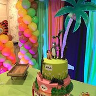 jungle book cake - Cake by GiggleBellies