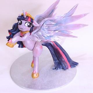 Princess Twilight Sparkle Cake Topper
