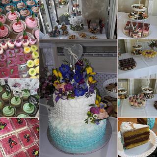 Wedding cakebar