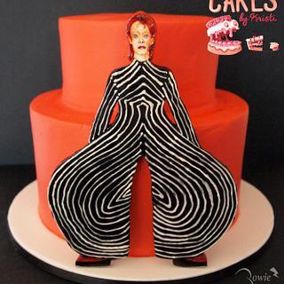 David Bowie Cake Collaboration