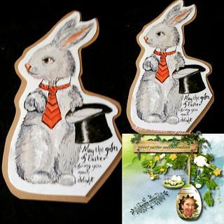 Fondant Cake Topper Sweet Easter Collaboration