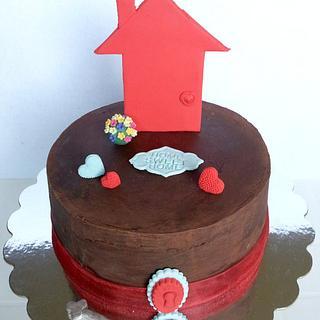 Home Sweet Home - Housewarming Cake