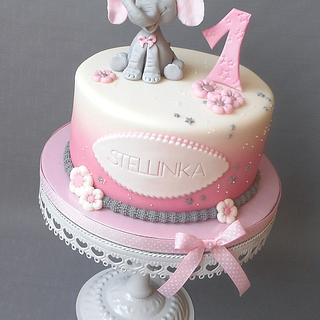 "Children's cake ""Elefant"""