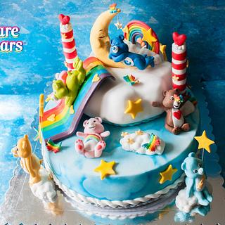 Project Rainbow CareBears by Petra Arnold & Jacqueline van der Wal