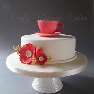 A sugar Artists Tea Party collaboration