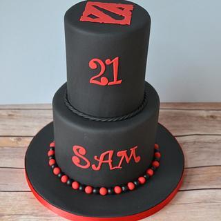 Dota 2 themed cake - Cake by AMAE - The Cake Boutique