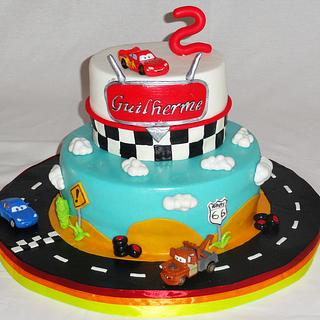 Car's - Cake by Lia Russo