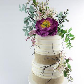 Rustic Floral Wedding