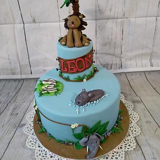 Jungle cake for Leon