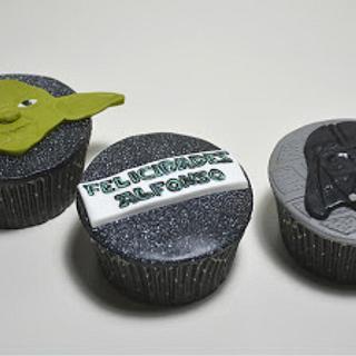 Star Wars Cupcakes - Cake by En Clave de Azucar