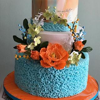 Summer fantasy - Cake by Patricia M