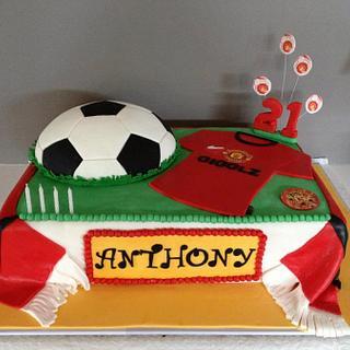 """""""Gigglez Football (Soccer Cake)"""