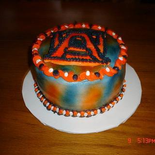 A small Auburn cake - Cake by Dana